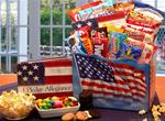 America The Beautiful Snack Gift Box (Lg)