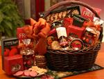 A Grand World Of Thanks Gourmet Gift Basket (Lg)